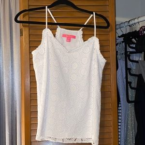 Eyelet Lilly Pulitzer top
